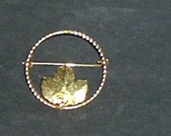 CIRCLE OF LEAVES Pin