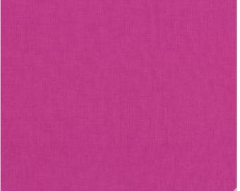Michael Miller Berry Pink Cotton Couture Solid  Pink Cotton Woven Fabric Cotton Couture Collection Solid Pink Fabric