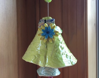 Hand Made Ceramic Wind Chime
