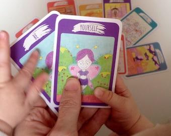 Be Ninja Mindfulness Language and Values Card Game