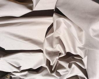 Plain cotton lawn fabric, beige