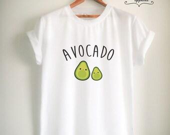 Vegan Shirt Vegan T Shirt Avocado Shirt Avocado T Shirt Vegan Merch Women Girls Men Tumblr Vegetarian Top Tee White/Grey/Black/Burgundy/Navy