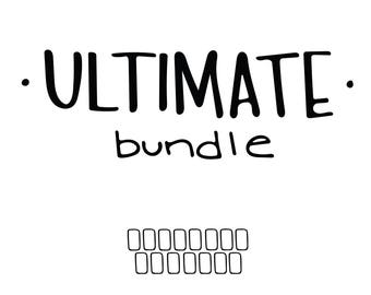 ULTIMATE Bundle // (17) 4 x 6 postcard prints