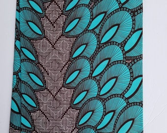 Multicolor African Fabric; Ankara Fabric; African Print; African Headwrap; Fabric in yards; African Fabric, Ankara