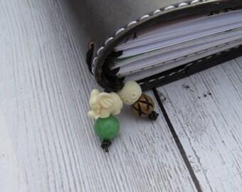 Jade Elephant - Traveler's Notebook Charm - Planner Charm