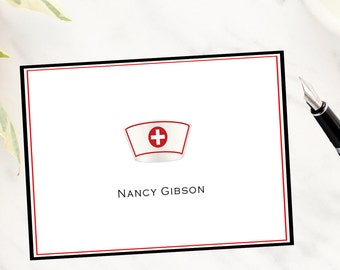 Nurse Cap Note Cards