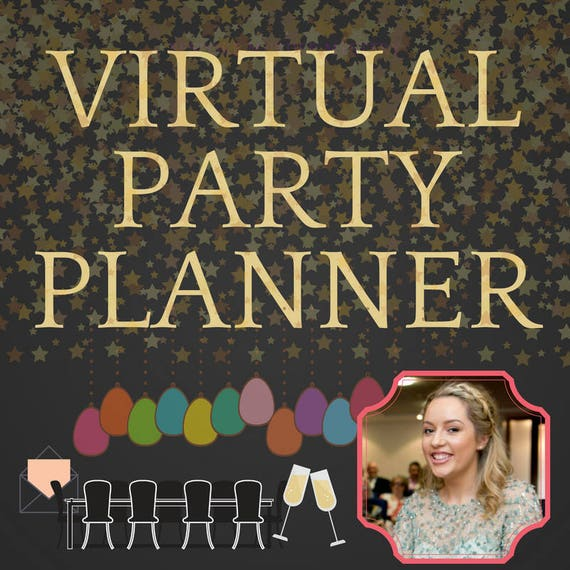 virtual party planner personal party planner game writer
