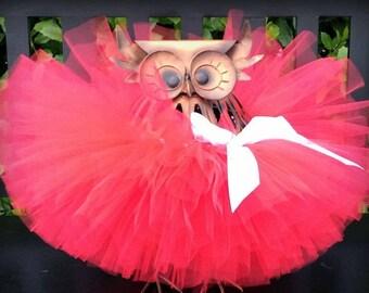 Red Tutu, Valentine's Day Tutu, Toddler Tutu, Baby Tutu, Newborn Tutu, Red Baby Tutu, 1st Birthday Tutu, Baby Girls Tutu, Red Tutu, July 4th