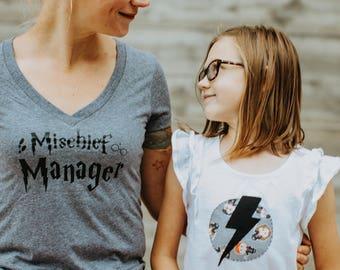 Mischief manager harry potter mom shirt mischief managed