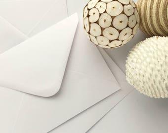 "100 5x7 Envelopes A7 Envelopes White Wedding Envelopes Bulk Envelopes US A7 for invitations card making supplies 5.1/4x7.1/4"" 133x184mm"