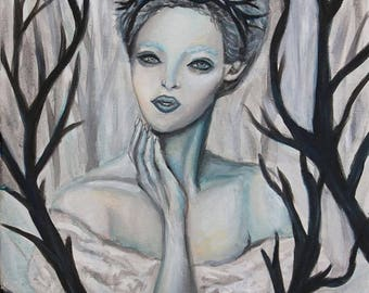 Collette the Winter Princess (Original Painting)