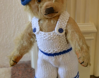 Vintage Merrythought Teddy Bear 1940/50 with Label