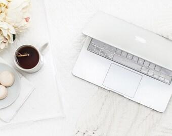 Silver Chrome Keyboard Key . Keycal . Macbook Pro 13 Case . Macbook Air Case . Macbook Decal . Microsoft Surface - Platinum Edition