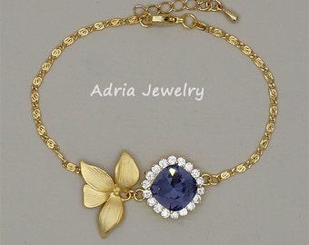 Gold Bridesmaid Bracelet, Purple Bracelet, Gold Bridesmaid Jewelry, Bridesmaid Bracelet Gold, Amethyst Bracelet Birthstone Jewelry Gift