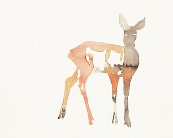 Print Watercolor Ree Roe