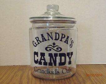 Grandpa's Candy Jar