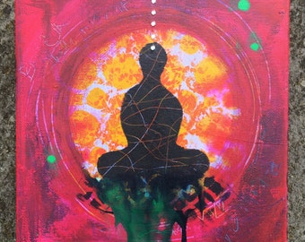 Meditation Small Canvas