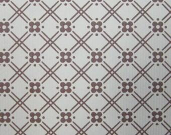 Vintage Wallpaper Little Brown per meter