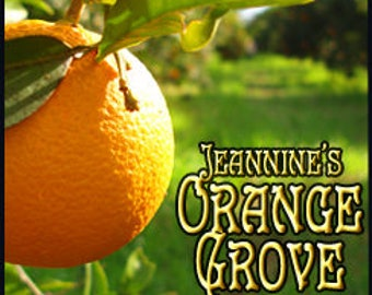Jeannine's Orange Grove - Private Edition - Concentrated Perfume Oil - Love Potion Magickal Perfumerie