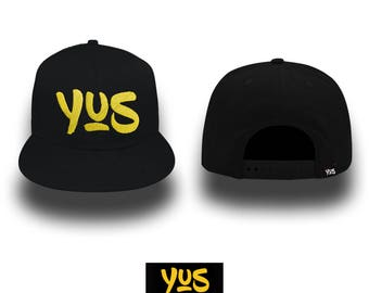 Snapback Hat/various colors personalized with embroidery YUS-Your Unique Style