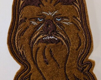 Star Wars Chewbacca embroidered patch