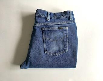 Vintage Men's 70's Sears Jeans, Straight Leg (W36)