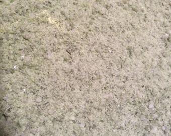 "Vegan Bone Broth Mineral Rich Season Sea Salt,  Natural, Organic Herbs & Greens, Watercress, Saltwort, Lamb's Quarters, ""Bone Broth"" Salt"