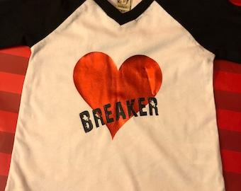 Heart Breaker Raglan Tee