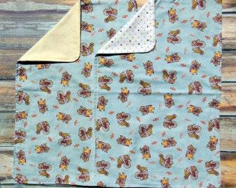 Burp Cloths - Elephant on Trike Burp Cloth - Circus Burp Cloth  - Flannel Burp Cloths - Baby Shower Gift- Cotton Burp- Baby Boy- Baby Girl