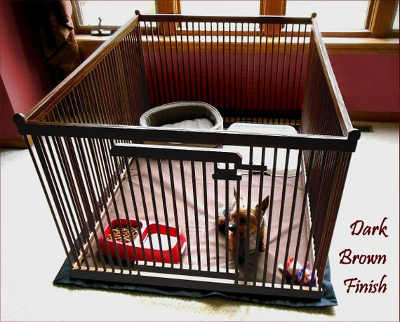 3u0027x4u0027 Dog Playpen With Floor. Portable, Versatile, Safe, Secure, Tough Pet  Home For Your Small Dog.