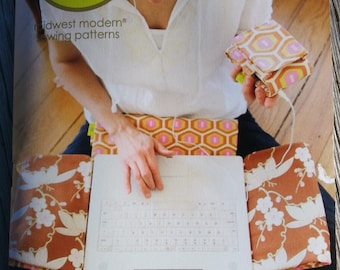 AMY BUTLER PATTERN,Laptop and MP3 Case Pattern,Sewing Pattern,Laptop Cover Pattern,MP3 Cover Pattern
