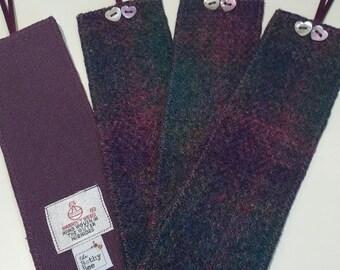 Harris Tweed Bookmarks