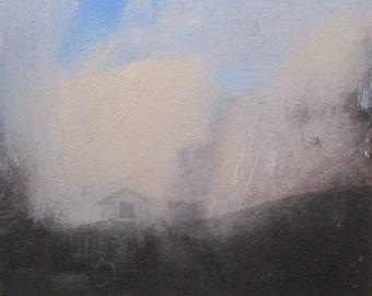 Landscape oil painting print - Num 10