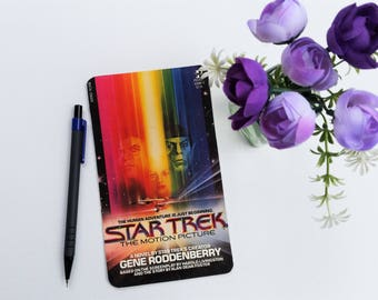 Star Trek, Up-cycled paperback book postcard