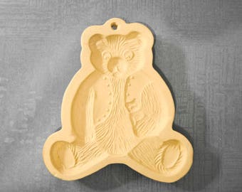 Shortbread Mold by Brown Bag Cookie Art,  Bear ©1984