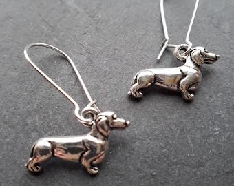 Cute Sausage Dog/Dachshund Earrings