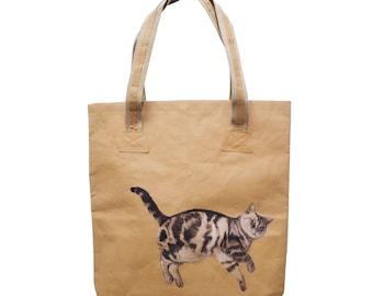 Personalised Washable Paper Big Tote Bag