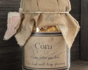 Pantry Jar       Corn