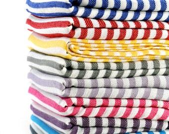 EXPRESS SHIPPING Peshtemal Towel Bath Towel Turkish Bath Towel - Turkish Beach Towel Turkish Hammam Towel Turkey Bathroom Towel Linen Towel