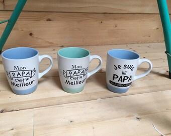 Father's day mug, pattern choice