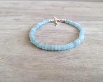 Aquamarine Bracelet For Men