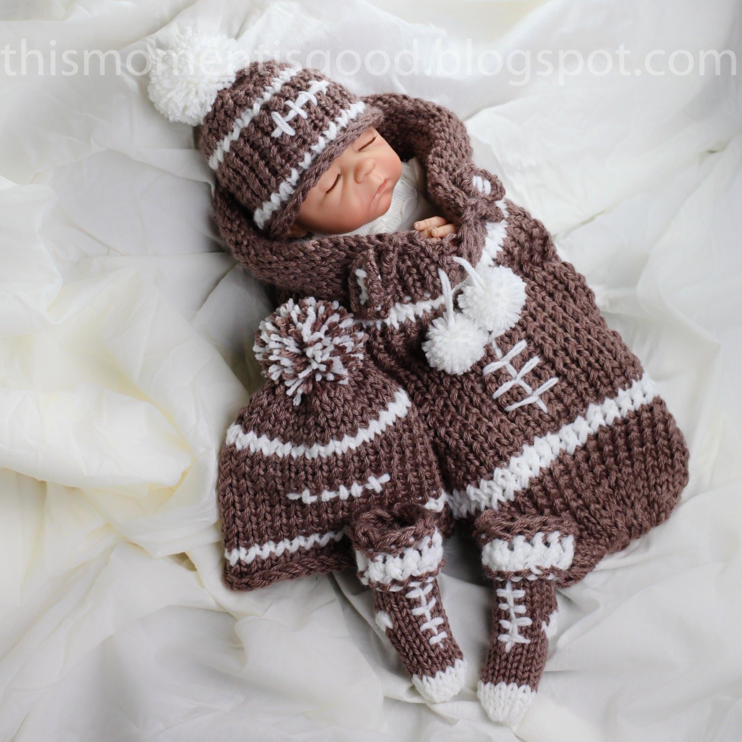 Loom Knit newborn cocoon PATTERN, loom knit hat pattern loom knit ...