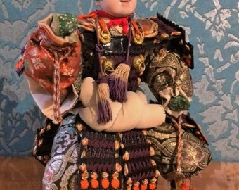 This beautiful Samurai Warrior doll is in perfect condition it will be a wonderful piece in your collection.