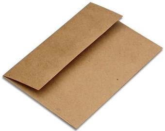 Upgrade to kraft envelopes-print orders only