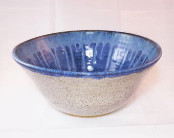 Beautiful Ceramic Bowl - 10 Inch Diameter - Glazed Bowl - Handmade - Wheel Thrown - Pottery Bowl - Serving Bowl - Housewarming Gift
