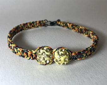 Multicolor bracelet beads rhinestone