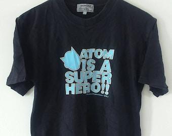 Rare Vintage Astro Boy Super Hero Cartoon Tshirt Size M