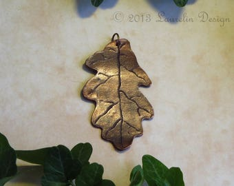Special Feature: Copper Oak Leaf Pendant by Laurelin Design