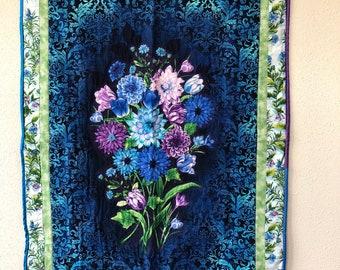 Décoration murale couette; Bouquet de fleurs