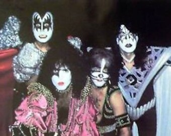 Kiss 24x36 Dynasty Group Poster Ace Frehley